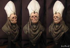 Dark preist bust by JSMarantz