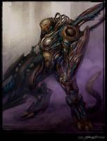 Alien Soldier by JSMarantz