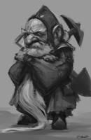 Snow White and the Huntsman Dwarf Concept 1 by JSMarantz