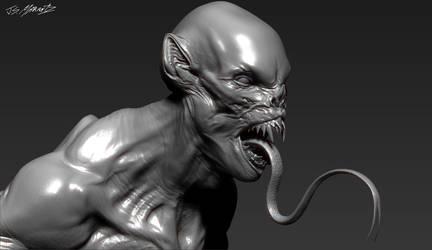 Grimm Season 3 ASWANG design model by JSMarantz