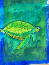 Sea turtle by andersml