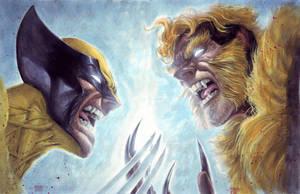 Wolverine vs Sabretooth 2 by edtadeo