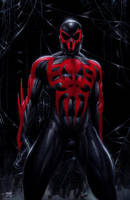 Spider-Man 2099 by edtadeo