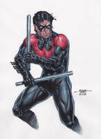 Nightwing by edtadeo