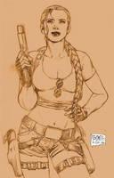 Lara Croft Tomb Raider by edtadeo