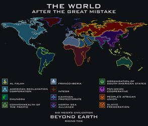 The World After The Great Mistake by CoralArts