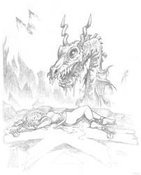 Calipolis: Chaos Dragon by Grigbertz