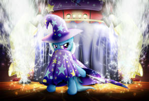 The Great and Powerful Trixie by DCPIP