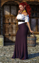 The Farm Girl by Janus3003