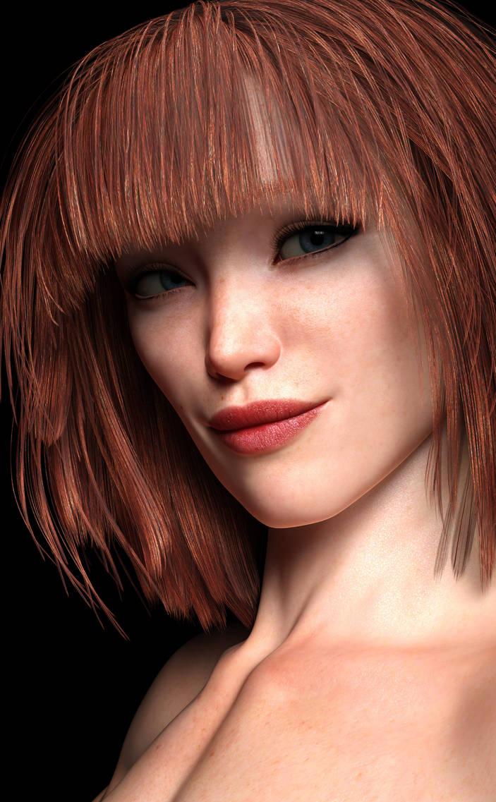 Redhead Mop Head by Janus3003