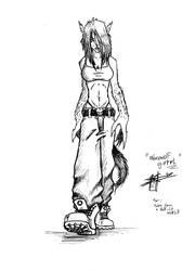 Werewolf GirrrrL by Ben-G-Geldenhuys
