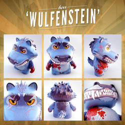 'Wulfenstein' Custom Munny by Ben-G-Geldenhuys