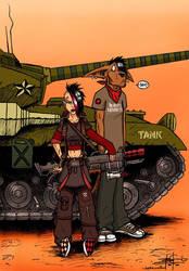 Emo Tank Girl by Ben-G-Geldenhuys