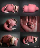 Sleeping beauty, Slowpoke by DannArte