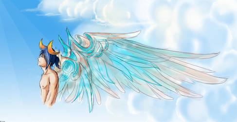 Dreamy Kazehaya by elicottyn