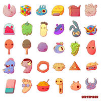 September Collectibles by AF16