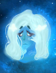 what's the use of feeling, blue? (critique me pls) by XxHybridLegacyxX