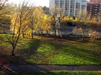 Autumn morning by glasschild