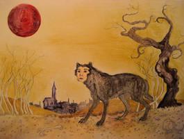 The Werewolf by CindarellaPop