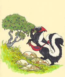 Skunk by CindarellaPop