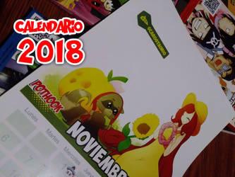 Participa en el Calendario Pothook 2018 by pothook