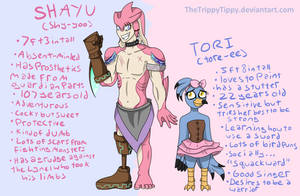 Meet My BoTW OC's! -Short Story Included- by TheTrippyTippy