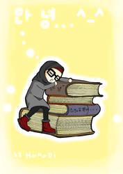 am learning Korean by hanabi90