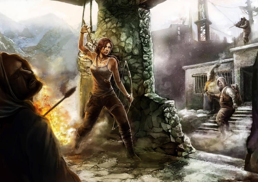 Tomb Raider  Reborn by Murilo-Araujo