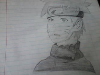 Naruto Sketch by Baby-Ashchu-lover