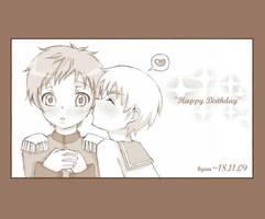 happy birthday, dear friend by Kyuutchi