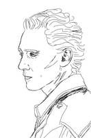 WIP Tom Hiddleston himself again 1 by MarinaSchiffer