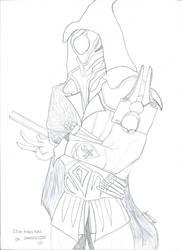 Ezio Auditore de Sangheilios by MuseOfMusic