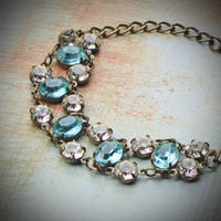 Vintage Rhinestone Bracelet by rewelliott