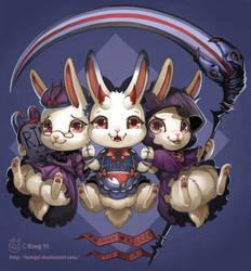 The best bunny killers by kongyi