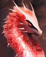 Blood dragon by cumalee