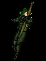 Green Arrow Fan Art by HarlandGirl