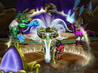Heroes of the Storm Fan Art Contest by HarlandGirl