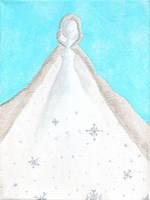 Khione, Goddess of Snow by Marjolijn-Ashara