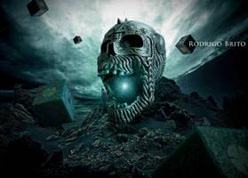 Ritual of the skull by RodrigoBrito