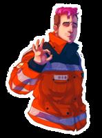 I'm okay [+speedpaint] by TimelordLoki