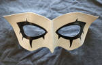 Persona 5 joker leather mask by fractured100