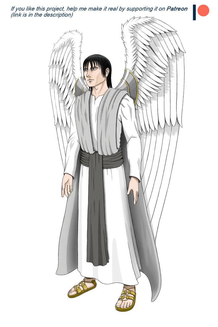 Original Andiellus Concept Art - Uriel by vhfm