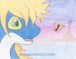 Sora + Butterfly by Kimmorz