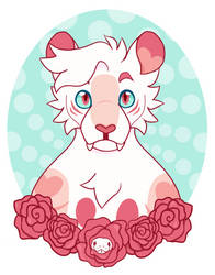 Floral Tiger by Kimmorz