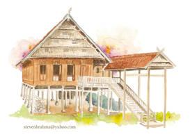 10 - Bugis House - by StevenBrahma by stevenbrahma
