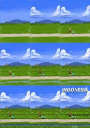 Indonesia - step by step by stevenbrahma