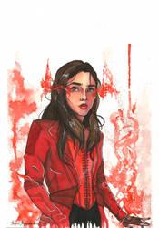 Scarlet Witch by GilGaladForgotten