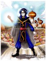 Mozenrath from Aladdin by Kadajo