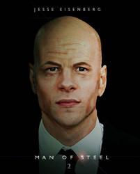 Jesse Eisenberg as Lex Luthor by mubassam