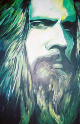 Rob Zombie, Hairy Godfather by RayvenOGiger
